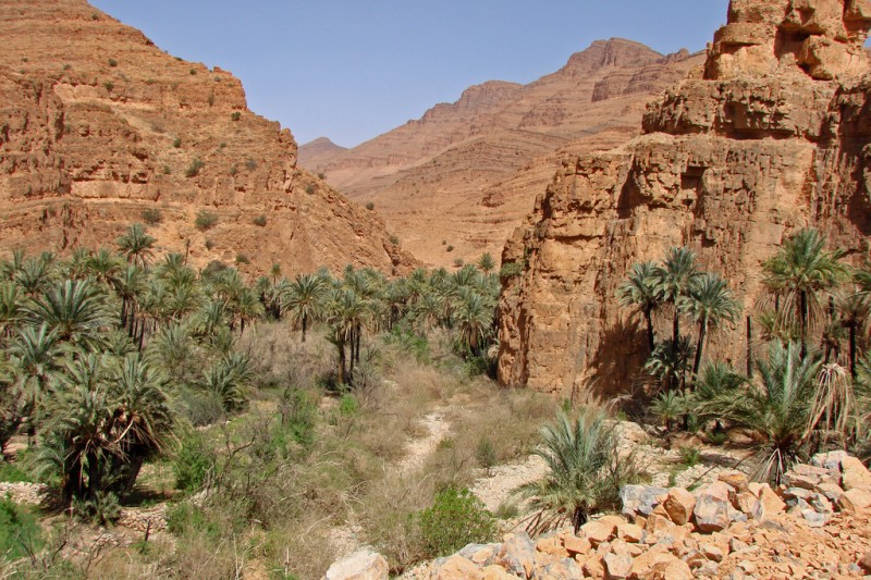 The gorges of Ait Mansour